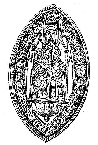 Bec Abbey - Seal Abbaye du Bec.