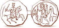 Seal of Alexander Nevsky 1236.png