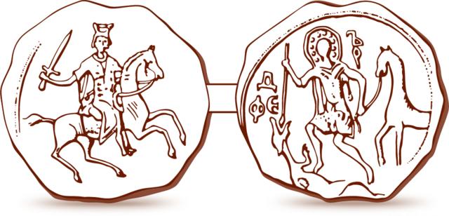 Печать Александра Невского. После 1236 года.