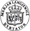 Pieczęć Mariana Langiewicza jako dyktatora