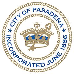 Official seal of Pasadena, California