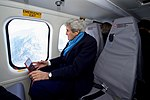 Secretary Kerry Looks Out the Window of a Helicopter During A Flight from Davos to Basel, Switzerland After the World Economic Forum (32244955672).jpg