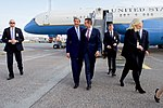 Secretary Kerry Walks With Danish Foreign Minister Jensen After Arriving in Denmark (27636522991).jpg