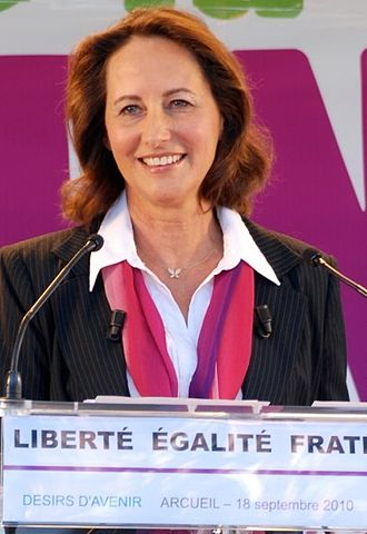 French Socialist Party presidential primary, 2011 - Image: Segolene Royal Arcueil 18 septembre 2010 6