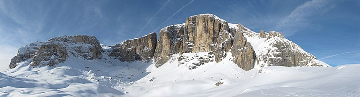 East side of Sella group