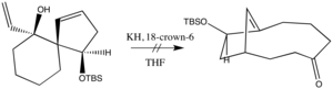 Oxy-Cope rearrangement - Image: Sensitiveenolate