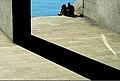 Sentados na Domus, A Coruña.jpg