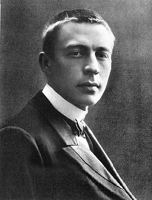 Sergei Rachmaninoff, 19 years old.