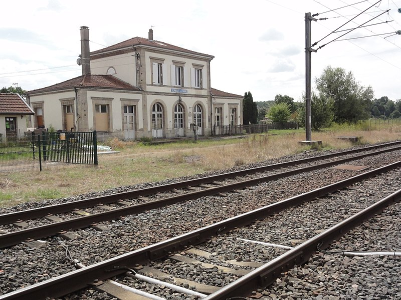 Sermaize-les-Bains (Marne) ancienne gare