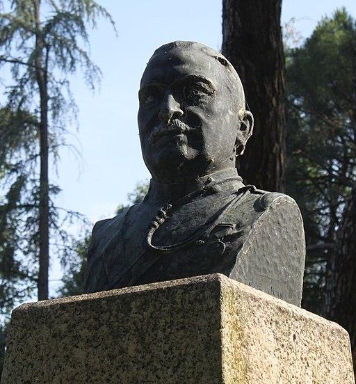 Severo Gómez Núñez - Busto