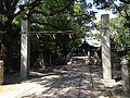 Shimmon Gate and Shinkyo Bridge of Suiten Shrine.jpg