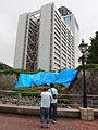 Shizuoka Prefectural Government Office and Sunpu Castle 20090811.jpg