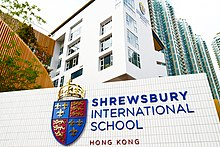 Exterior of Shrewsbury International School Hong Kong
