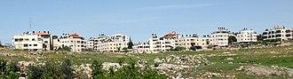 Shuafat - View of Shuafat