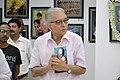 Shyamal Kumar Sen Visiting 43rd PAD Group Exhibition - Kolkata 2017-06-20 0293.JPG