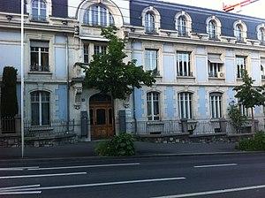 European Athletic Association - European Athletics' current headquarters in Lausanne.