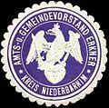 Siegelmarke Amts- und Gemeindevorstand Erkner - Kreis Niederbarnim W0312978.jpg