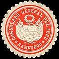 Siegelmarke Consulado General del Peru - Hamburgo W0223632.jpg