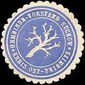 Siegelmarke Gemeinde - Vorstand Suckow - Kreis Ost - Prignitz W0217424.jpg