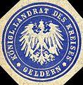 Siegelmarke Königlicher Landrat des Kreises - Geldern W0216239.jpg