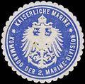 Siegelmarke K. Marine Kommando der 2. Marine-Division W0357535.jpg