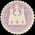 Siegelmarke Stadt - Behörde - Demmin W0215423.jpg