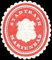 Siegelmarke Stadtrath Marienbad W0318422.jpg