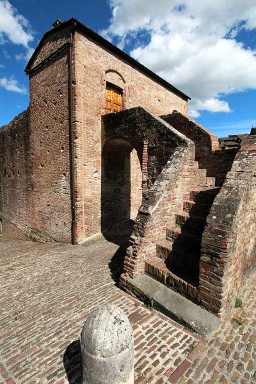 Scalinata alla Casa del Pittore sopra la Fontana Fontenova