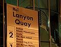 Sign, Lanyon Quay, Belfast - geograph.org.uk - 1577823.jpg