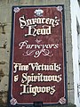 Sign on the Saracen's Head - geograph.org.uk - 988066.jpg