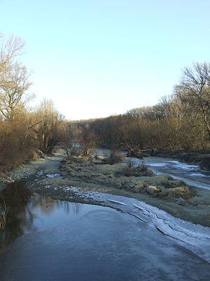 River island - The river island Sihoť, Bratislava (Slovakia)