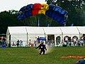 Silver Stars Parachute Team (1 of 2) Cirencester Park, Gloucestershire - geograph.org.uk - 2490227.jpg