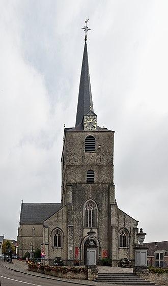 Overijse - Image: Sint Martinuskerk in Overijse, Belgium (DSCF7537, DSCF7541)