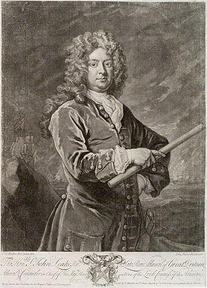 Newfoundland expedition (1702) - Commodore John Leake