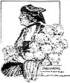 Sketch of Florence Harding, wife of the President, by Marguerite Martyn, 1920.jpg