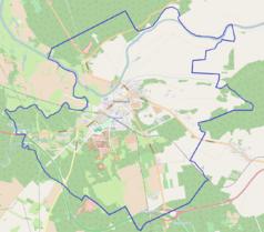 Mapa lokalizacyjna Skwierzyny