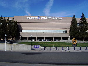 Sleep Train Arena - Image: Sleep Train Arena