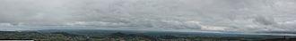Slieve Gullion - 360 deg panorama of Ireland over Slieve Gullion
