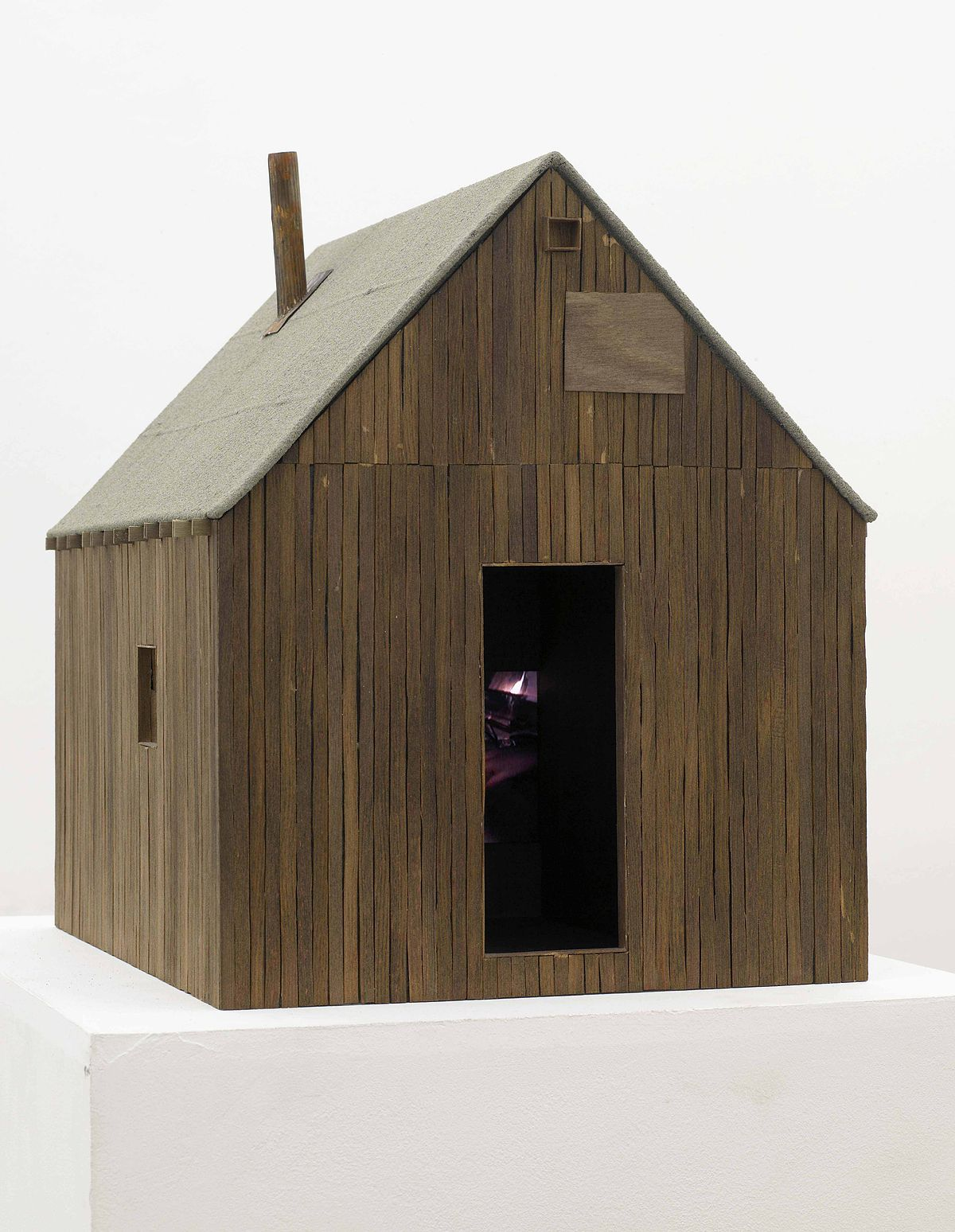 File Small Wooden House Model Jpg Wikimedia Commons