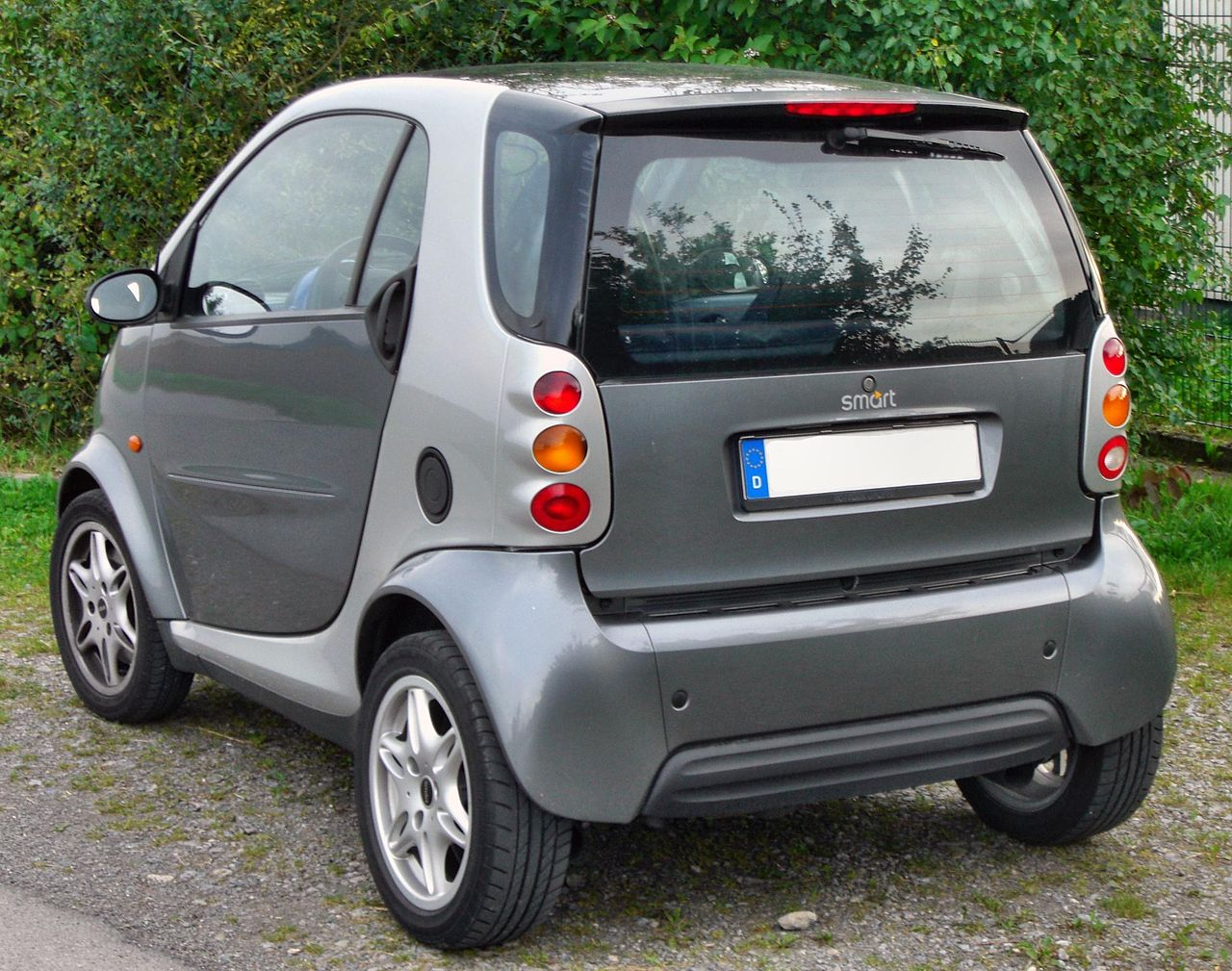 file smart fortwo passion rear jpg wikimedia commons. Black Bedroom Furniture Sets. Home Design Ideas