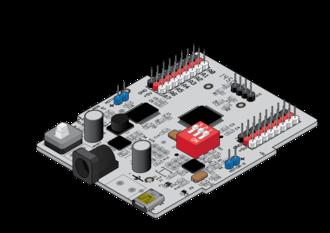 Ebot (microcontroller) - Image: Snowball MCU
