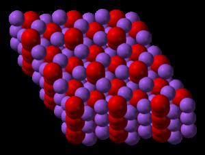 Sodium peroxide - Image: Sodium peroxide 3D vd W