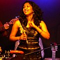 Sohini Alam at Ronnie Scott's, London, March 2012 (cropped to square).JPG