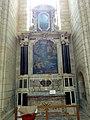 Soissons (02), cathédrale, collatéral sud du chœur, 1ère chapelle, autel et retable de saint Sébastien 1.jpg