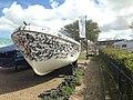 Somalisch piratenschip, Marine Museum, Den Helder - 2.JPG