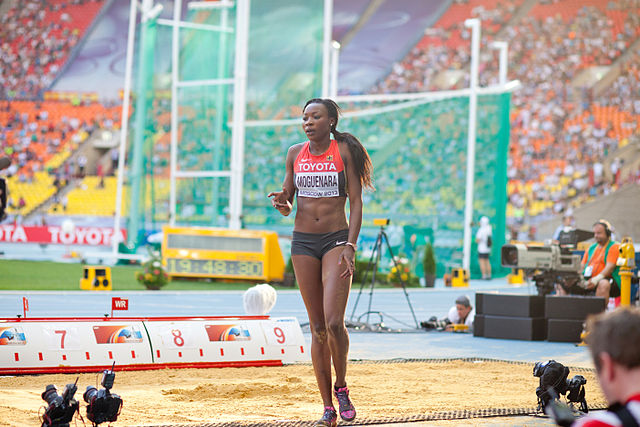 Sosthene Moguenara (2013 World Championships in Athletics).jpg