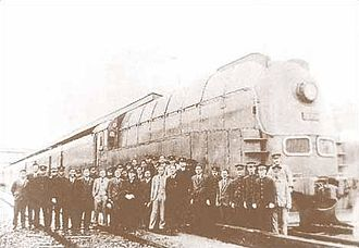 South Manchuria Railway - Locomotive for Asia Express