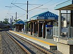 South at passenger platform at Meadowbrook station, Aug 16.jpg