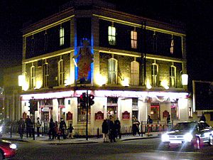 Southall - Glassy Junction pub, November 2005