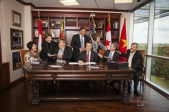 Keller Williams Realty - Keller Williams Realty franchise signing in South Africa in 2012.